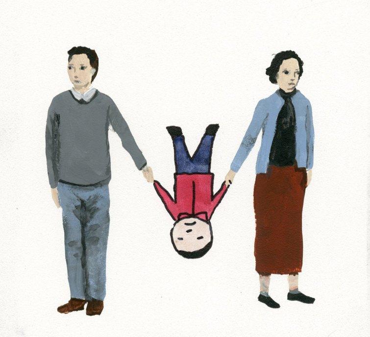 Alta conflictividad entre los progenitores y custodia compartida.